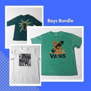 Other - 3 boy's shirt bundle M